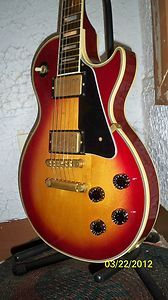 Gibson Les Paul Custom Heritage Cherry Sunburst Plain Top HCSB
