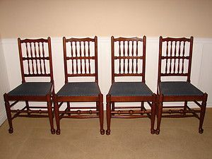 Stickley Cherry Valley Dining Room Chairs Set of Four