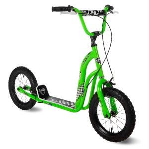 Kent Super Scooter 14 Inch Lime Kids Scooter Bike Boys Girls