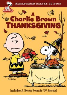 Peanuts Charlie Brown Thanksgiving DVD Deluxe Edition Warner Home
