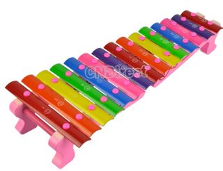Childrens 15 Sounds Knock Xylophone Musical Educational Game Toys