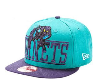 Charlotte Hornets Marvel Comics Spiderman Snapback Hat by New Era
