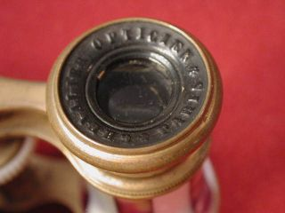 Chevalier Opicien Paris Opera Glasses wih Moher of Pearl and