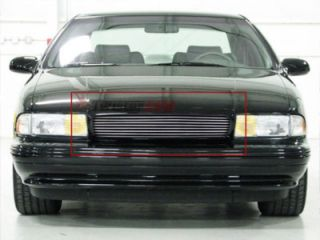 Billet Grille Insert 94   96 Chevy Caprice Impala SS Front Grill Upper