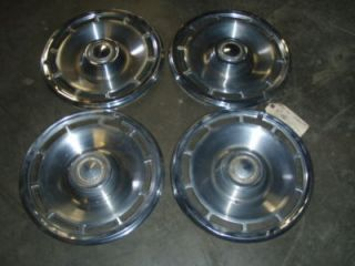1971 1972 Chevrolet Chevelle Wheel Hub Caps 14 WOW 71