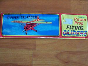 Fly with Power Prop Flying Gliders Piper Tri Pacer NIP