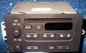 Delco. 2005. Chevrolet Malibu Classic. AM/FM/CD. OEM. Factory Radio