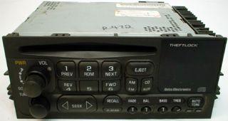 1996 2005 Chevy Astro Van Factory Radio Tape Player