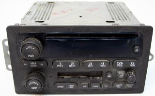 2007 Chevy Silverado Factory Stereo Tape Am FM CD Player Radio