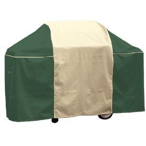 Char Broil 2185564 65 Inch Artisan Green BBQ Grill Cover Protector