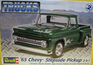 Revell 1965 Chevy Chevrolet Pickup 1 25 Scale Model Kit New