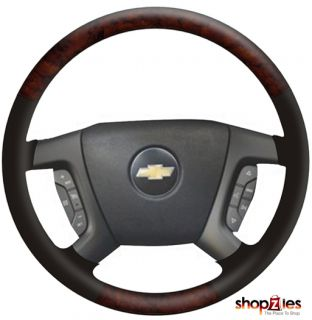 Chevy Tahoe Avalanche 2007 2008 Wood Steering Wheel Lav