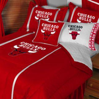 CHICAGO BULLS Basketball Bed n Bag   Comforter Sheet FULL BEDDING SET