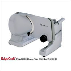 Chefs Choice 6090100   EdgeCraft Premium Electric Food Slicer   Chef