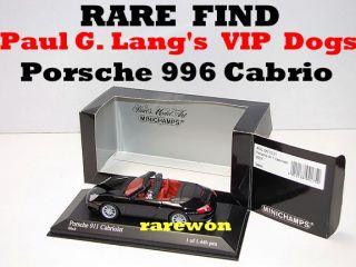 Porsche 911 Carrera Cabriolet 1 43 Minichamps Managing Directors VIP