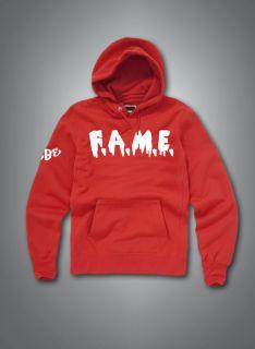 Chris Brown F A M E Hoodies Hoody Fame T Shirt Clothing