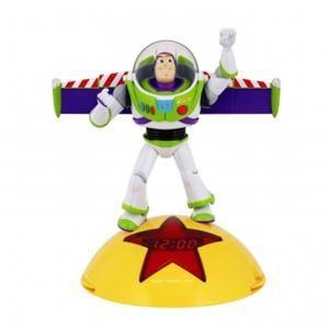 New Disney Toy Story Alarm Clock Radio Buzz Lightyear Phrases Kids