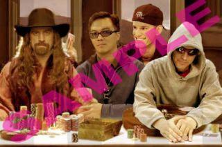 Poker Last Supper with Chris Jesus Ferguson New T Shirt