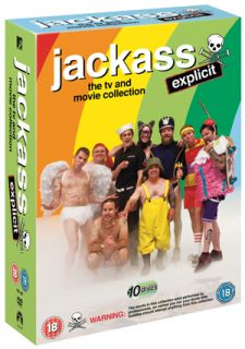 Jackass Complete Collection 10 Discs New DVD 5014437148735