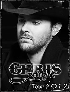 Chris Young Country Music Personalized T Shirts