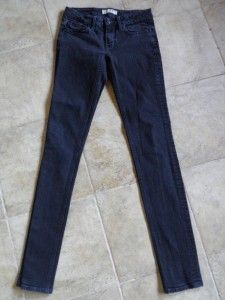 Marc Jacobs Chrissie Low Rise Skinny Black Jeans Size 26