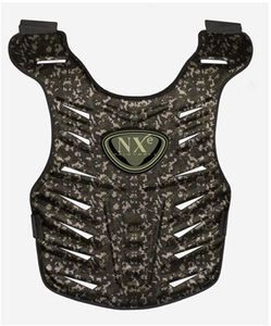 NXE Paintball Body Armor Digi Camo Elevation Chest Protector