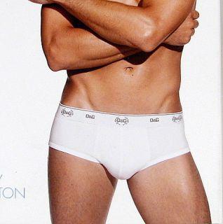 Dolce Gabbana Daily Cotton Mens Brando Brief Stretch Cotton D G