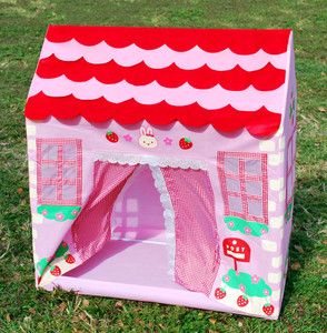 PINK PRINCESS PLAY HOUSE TENT   KIDS / GIRLS   CHILDRENS TOYS