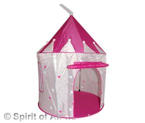Childrens Pop Up Princess Knight Castle Play Tent