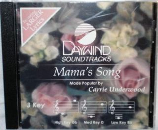 Carrie Underwood Mamas Song New Soundtrack CD