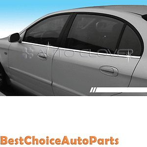 Window Sill Belt Molding Trim Cover for 99 06 Chevrolet Epica