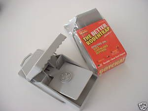 Chipmunk Rat Chipmunk Gopher Trap 2 Pack Mfg USA