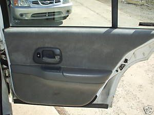 95 96 97 98 99 Chevy Lumina Rear Door Panels Power Gray