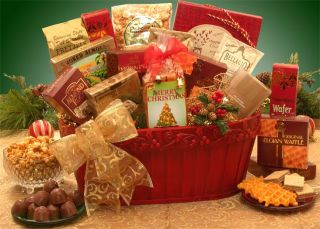 New Christmas Gift Baskets Have A Very Merry Christmas Gift Basket