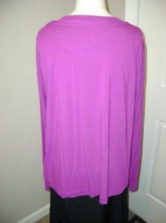 Simply Chloe Dao Scoop Neck T Shirt XL