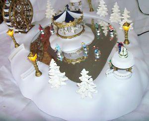 CHRISTMAS MAGIC WINTER WONDERLAND LIGHTED PLAYS CHRISTMAS SONGS