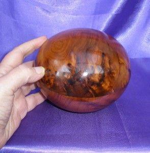 Wood Extra Large Round Trinket Pot Keepsake Box Christmas Gift
