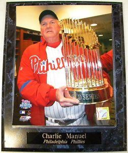 Charlie Manuel Philadelphia Phillies 2008 World Series Champions 10