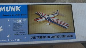 Sig Super Chipmunk Control Line Model Airplane