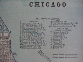 1894 Street Map Milwaukee Bay View Wisconsin Lighthouse