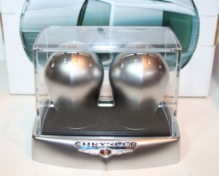RARE New Chrysler Crossfire SRT6 Alloy Shift Knobs Manufacturer Dealer