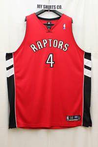 Toronto Raptors Red White Black Chris Bosh 4 Authentic Jersey 60 Brand