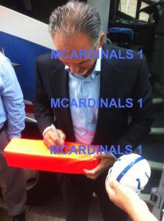 Indianapolis Colts Chuck Pagano Signed Autographed Mini Helmet COA