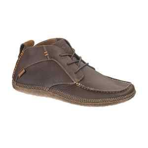 Hush Puppies Profile Chukka Mens Brown Leather Ankle Height Shoes