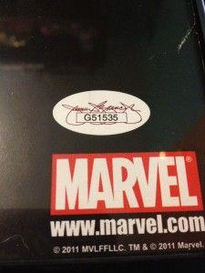 Chris Evans Captain America Autographed Poster JSA Cert 2012 Avengers