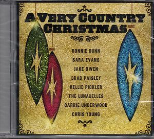 Chris Young, Carrie Underwood, T,NEW CD,Very Country Christmas,Kellie