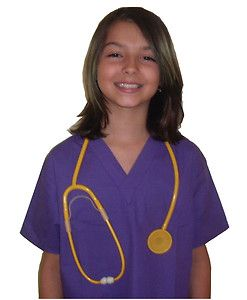 Kids Scrubs Real Childrens Doctor and Nurse Scrub Sets