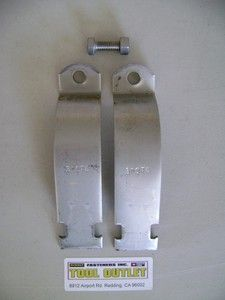 Stainless Steel Rigid Pipe Clamps for Unistrut Channel 10 PK