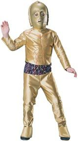 Star Wars Deluxe C 3PO Child Halloween Costume