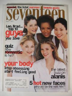 1997 Seventeen Magazine Sarah Thomas Christina The Jua Perez